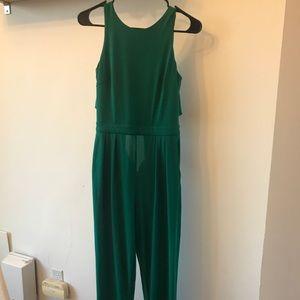 Forrest green jumpsuit